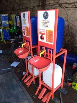 Program CSR Wastafel Portable - Wastafel Injak Seluruh Indonesia