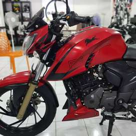 TVS Apache RTR 200 4V, 2018 /2019 reg in immaculate condition