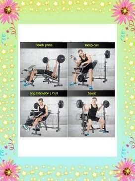 Alat gym SULTAN √ bench press 2910+beban