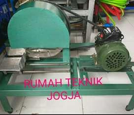 Mesin pemotong tempe/perajang tempe+dinamo watt kecil