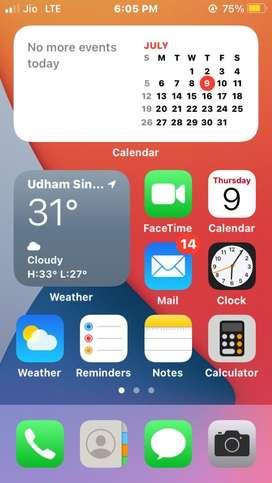 Iphone se 2gb/32gb folder chnge hona h touch ki dikkt h