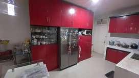Kitchen set Lemari Meja bar Besi Anti Rayap