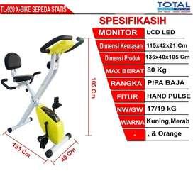 Sepeda statis TL 920 I Alat Fitness 2 Fungsi Murah dan Bukan Bekas