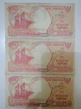 Uang Kuno 100 Rupiah