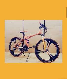 Brand new slim tayre foldebal cycle