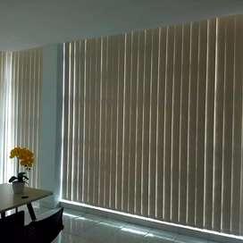 Desain gorden vertical cocok untuk semua ruangan