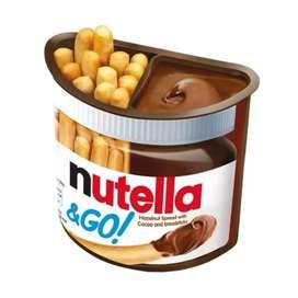 Nutella Ferrero Go Snack Biscuit Chocolate Biskuit Cokelat Snack