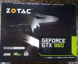 Zotac Gtx 960 2gb ddr5