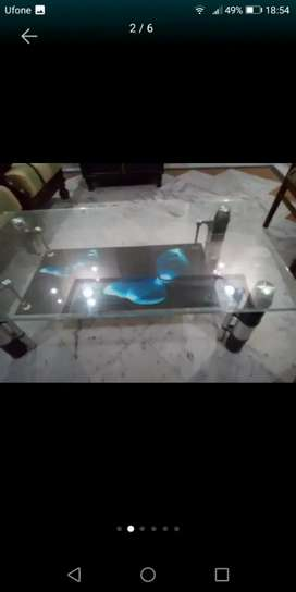 New glass table only 8000rs in lalamusa