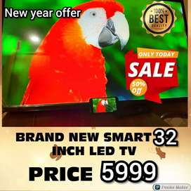 BRAND NEW SMART 32 INCH LED TV FULL HD QLED WITH 2 YEAR WARRANTY