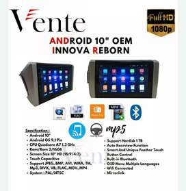 "Headunit Android VENTE 10"" OEM All New Innova Reborn"