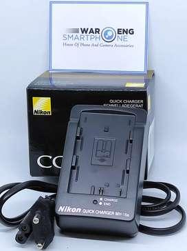 Charger Nikon MH18a Untuk Nikon D50 D70 D80 D90 D100 D200 D300