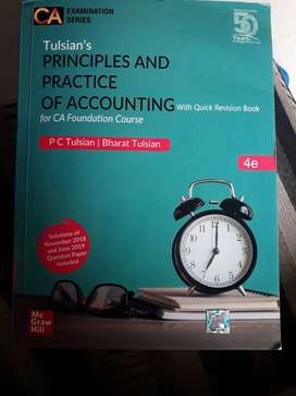 Ca foundation 4th edition P C Tulsian scanners