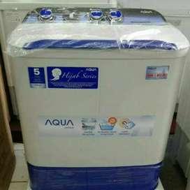Mesin cuci AQUA hijab series 7thn model terbaru