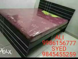 Brand New queen size Cot without storage at best quality
