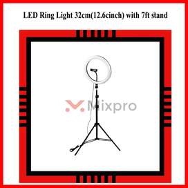 LED Ring Light 32cm(12.6cinch) with 7ft stand