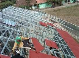 Jasa atap baja ringan berkualitas tinggi