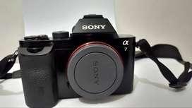 Sony alpha 7i (Sony a7i) Kamera mirrorless fullframe Body Only Garansi