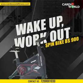 New year offer on Friction brake system Spin Bike