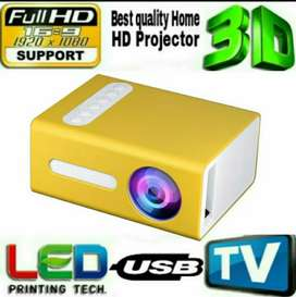 LOW PRICE BEST HOME CINEMA HD LED MULTIMEDIA VIDEO PROJECTOR USB HDMI