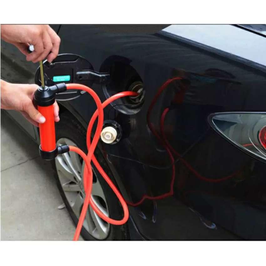 Pompa Tangan Transfer Oli Bensin Mobil Oil Extractor Sucker Pump