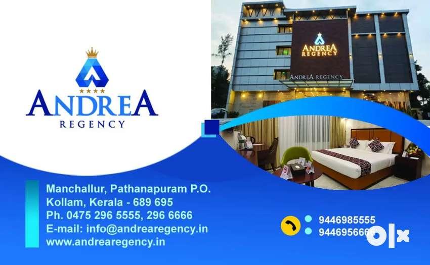 Hotel Andrea Regency pathanapuram, kollam looking hotel professionals