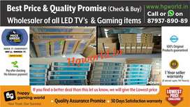 Wholesale Price Led Tvs All Sizes Smart/NonSmart/4K Uhd & Gaming Items