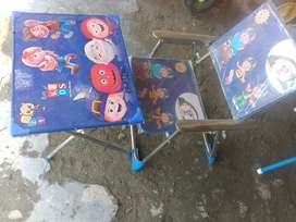 Kids chair and table