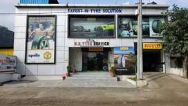 Car service/Car A:C work & New tyres for cars