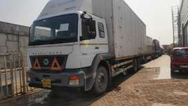 BharatBenz 2523 32ft closed body at Panvel Navi Mumbai