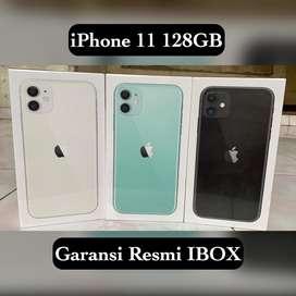 iPhone 11 128GB BNIB Garansi Resmi IBOX Indonesia