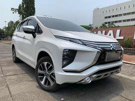Mitsubishi Xpander Ultimate NIK 2018 Km 8ribuan Putih