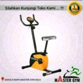 "Alat Fitness SEPEDA STATIS BIKE ""Sports At Home"" Master Gym ID#6156"