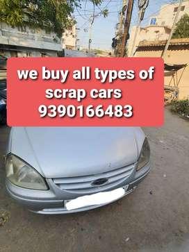 SCRAP-OLD/FLOOD-UNUSED CARS WE PURCHASE AT U R DOOR STEP