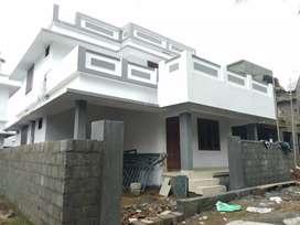 3 bhk 1300 sqft  new build beautiful house at aluva varapuzha road