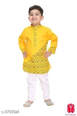 Tinkle Fancy Kids Boys Kurta Sets*