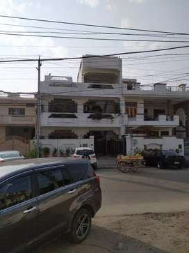 semi commercial property complete house 250  yard  on  BRS nagar Road