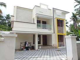 New 7cent Red Bricks House Mannanthala