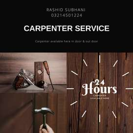 Carpenter available hair 24 hours