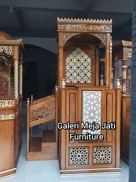 Mimbar masjid kuba E766 talk
