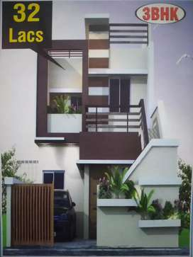 3BHK Dplx(ON ROAD)Near SURYA MALL in front of Mile Stone School Bhilai