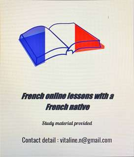 Online french lessons with a french nativ