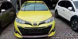 Toyota yaris S TRD AT 2019 kuning masih baru