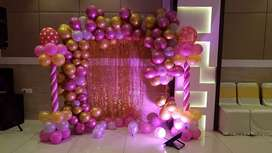 Balloons decoration- birthday party nd all balloons themes