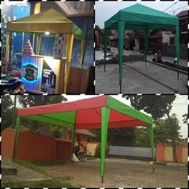 Tenda cafe  bhan d420 anti aer  bayar dtmpat