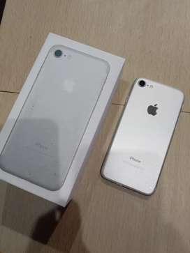 IPhone, IPhone 7 Silver 256GB Fullset !!!