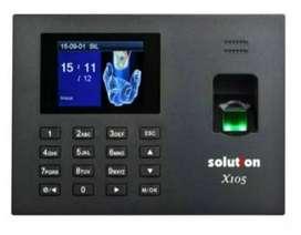 FINGER PRINT X105 SOLUTION Mesin Absensi Sidik Jari