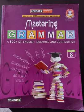 English grammar book class 8,icse
