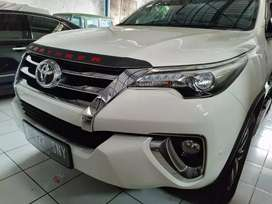 Fortuner VRZ 2018 Low Km 7000 Putih Like New Istimewa