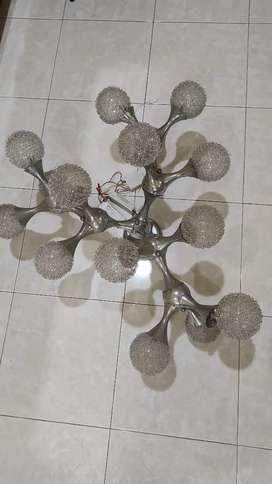 Lampu Amoeba Crystal kombinasi